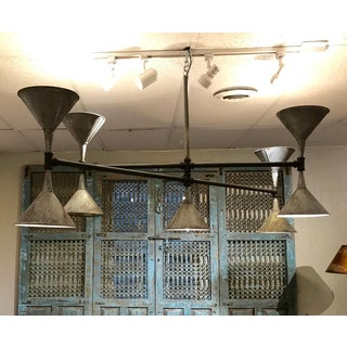 Modern Industrial Plumbers Pipe and Funnel Chandelier Preview