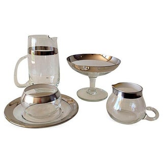 Dorothy Thorpe Assorted Service Ware - Set of 5 For Sale