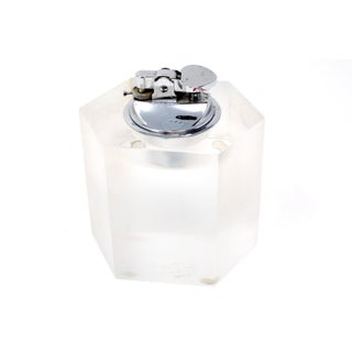 Vintage Hexagonal Lucite Table Lighter Preview