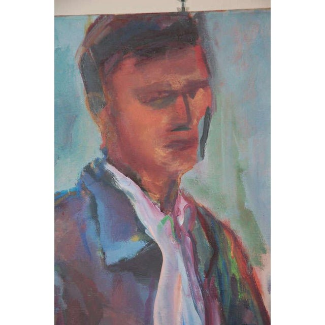 1960s Portrait Painting, Circa 1960 For Sale - Image 5 of 8