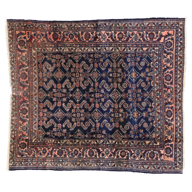 Antique Persian Traditional Modern Style Lilihan Rug - 3′10″ × 5′6″ - Image 6 of 6