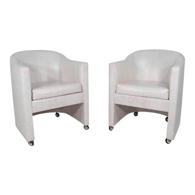 Preveiw Side or Club Chairs - A Pair For Sale