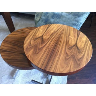 Modern Rosewood Nesting Tables - a Pair Preview
