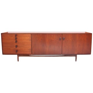 1960s Ib Kofod-Larsen for G-Plan Danish Teak and Rosewood Sideboard By For Sale