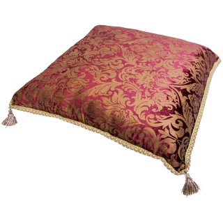 Moroccan Oversized Floor Pillow Cushion For Sale
