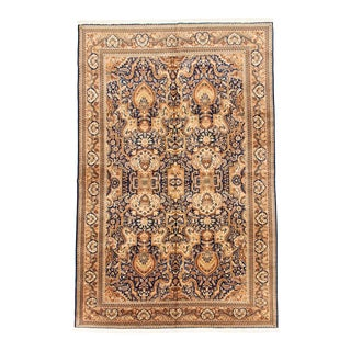 Vintage Turkish Traditional Style Rug For Sale
