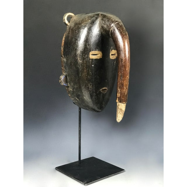 1990s African Tribal Art Kulango Mask From Ivory Coast For Sale - Image 5 of 11