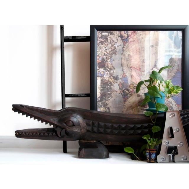 Crocodile Foot Stool - Image 2 of 4
