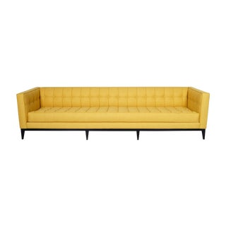 "Elegant Tufted ""Vista"" Sofa by Cruz Design Studio For Sale"