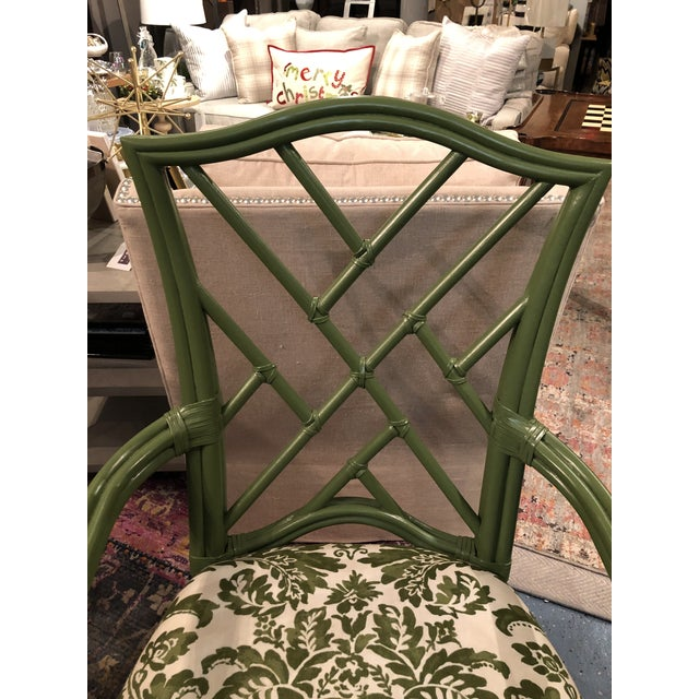 Asian Green Lacor Mai Armchair For Sale - Image 3 of 8