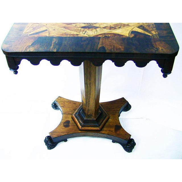 19c British William IV Colonial Specimen Wood Side Table - Important For Sale In Dallas - Image 6 of 12
