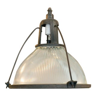 Holophane Industrial Hanging Light Fixture For Sale