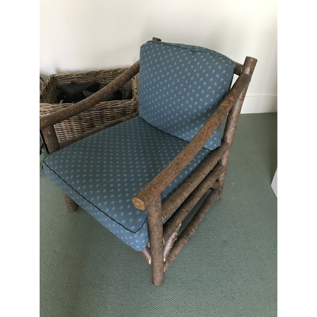 Rustic Club Chair by La Lune Collection For Sale - Image 4 of 6