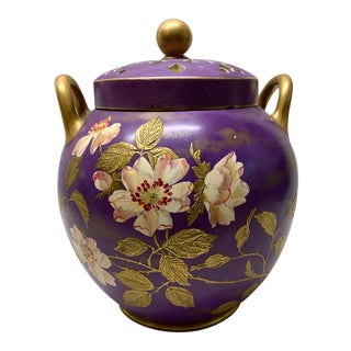 20th Century Wedgewood Double-Lidded Potpourri Ceramic Urn/Jar For Sale