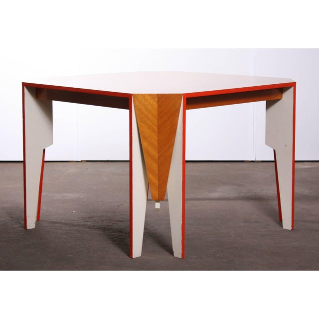Modern Architectural Dining Table - Image 7 of 8