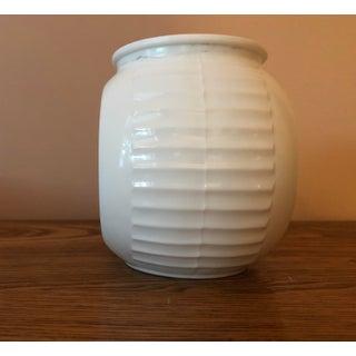 Vintage Fire King White Vitrock Grease Jar Preview