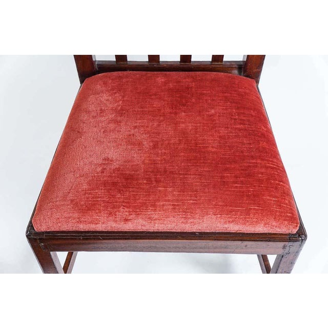 1790 Federal Mahogany Side Chair For Sale - Image 9 of 10