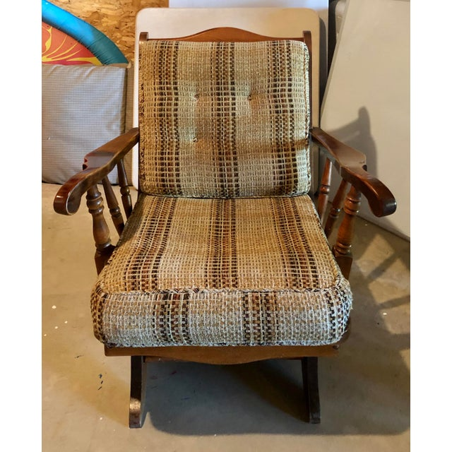 Mid-Century Modern Mid-Century Modern Rocking Chair For Sale - Image 3 of 8