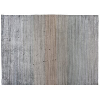 "Pastel Zen Collection Wool Rug - 10'2"" X 14' For Sale"