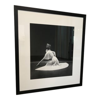 Framed Vanity Fair Pleated Capelet Print by Mark Shaw For Sale