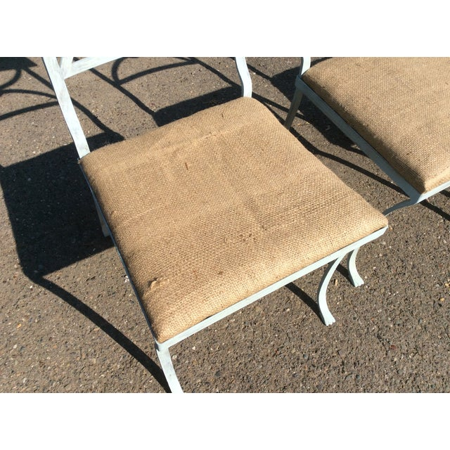 French Empire Chairs - Set of 4 For Sale In San Antonio - Image 6 of 11