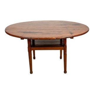 Pennsylvania Tavern Table - Chair, Circa 19th Century For Sale