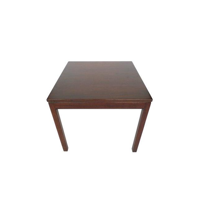 Jens Risom Danish Modern Walnut Side Table - Image 4 of 7