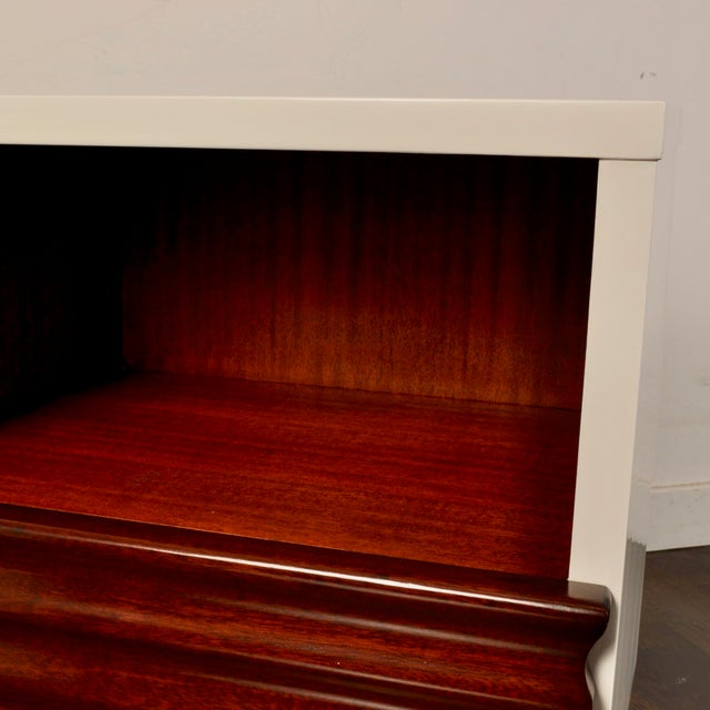 Mid Century Lacquered Nightstands by Vanleigh Furniture For Sale - Image 10 of 12