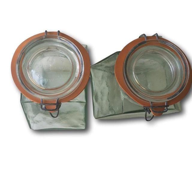 Vintage Hermetic Glass Jars - A Pair - Image 4 of 5