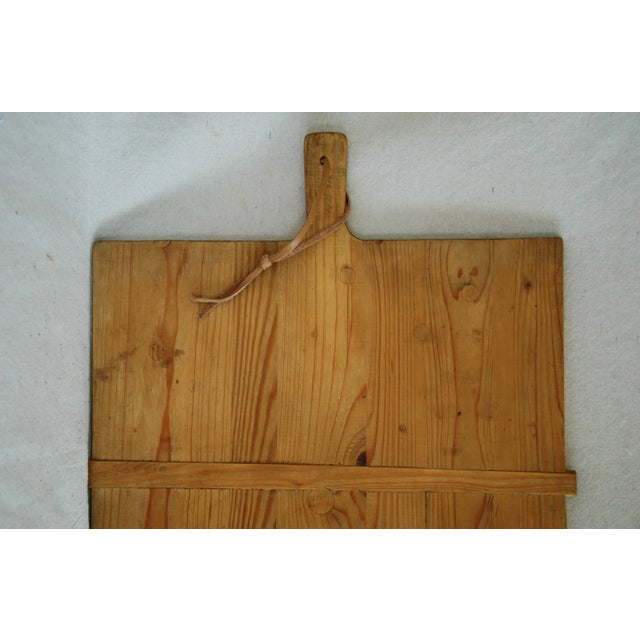 1920s Large French Harvest Bread Cheese Board - Image 3 of 8