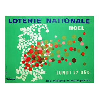 1971 French National Lottery, Noel by Villemot