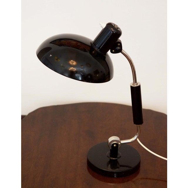 Christian Dell Austrian Mid Century Table Lamp by Christian Dell for Koranda, 1950s For Sale - Image 4 of 5