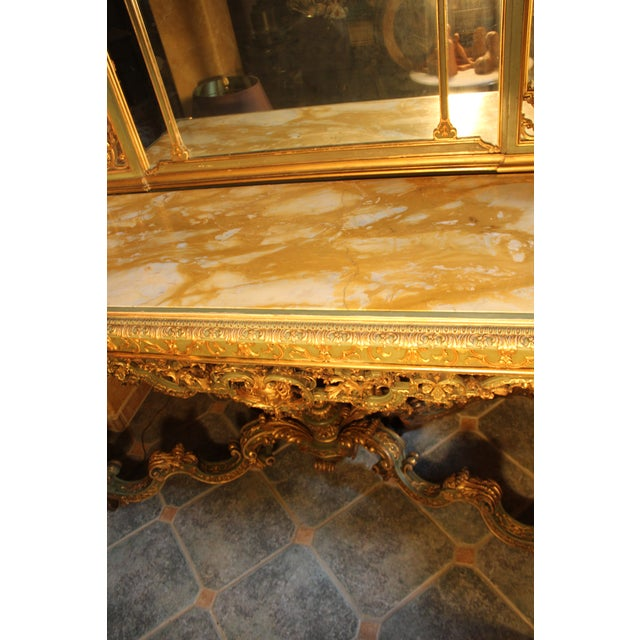 Late 19th Century Antique French Console Table For Sale - Image 10 of 12