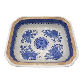 Late 18th Century Fitzhugh Pattern Dish For Sale