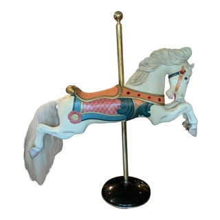 1913 Charles Wallace Parker Carousel Horse For Sale