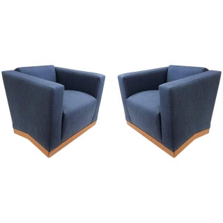 Pair of Dakota Jackson Lounge Chairs