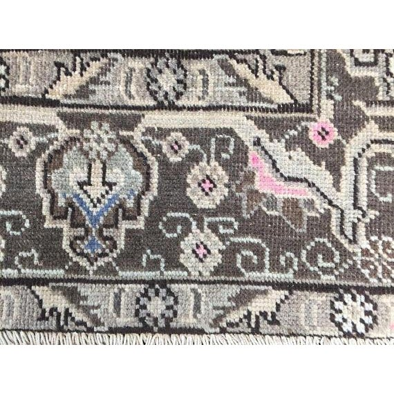 """Vintage Persian Area Rug - 6'5"""" x 9'3"""" - Image 7 of 11"""
