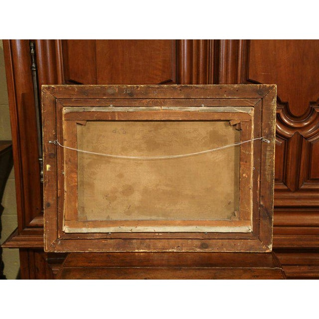 Mid 19th Century 19th Century English Still Life Painting in Gilt Frame Signed and Dated 1847 For Sale - Image 5 of 6