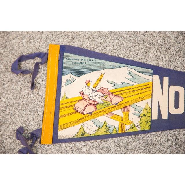 North Conway, NH Felt Flag - Image 2 of 3