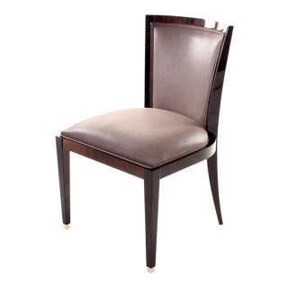 Ziricote Side Chair For Sale