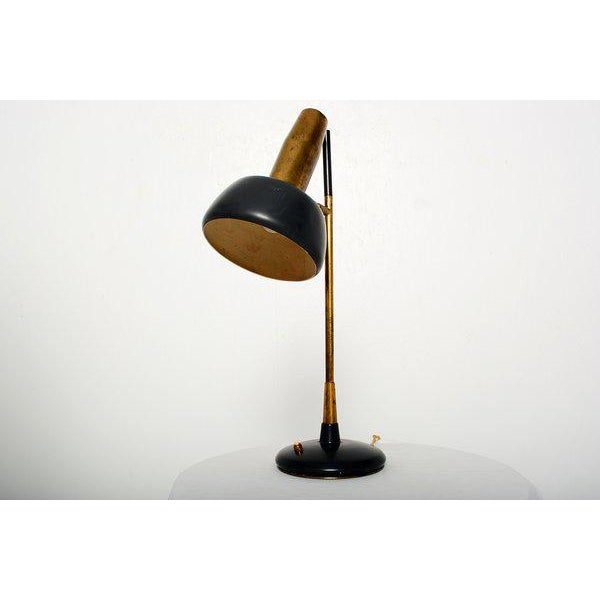 Mid-Century Modern Lumi Milano Desk Lamp by Oscar Torlasco For Sale - Image 3 of 6