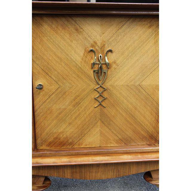 French Art Deco Rosewood sideboard / Credenza Circa 1940s For Sale In Miami - Image 6 of 10
