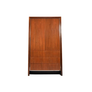 Mid-Century Armoire/Wardobe by Merton Gershun for Dillingham For Sale