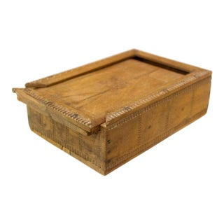 Himachal Carved Spice Box For Sale