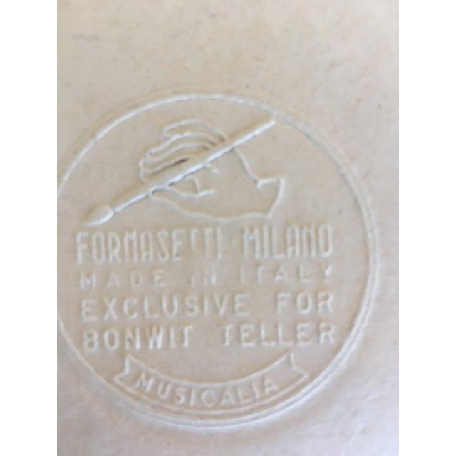 Fornasetti Vintage Musicalia Fornasetti Coasters - Set of 8 For Sale - Image 4 of 6