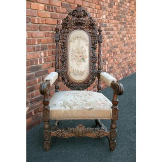 Antique French Arm Chair Preview