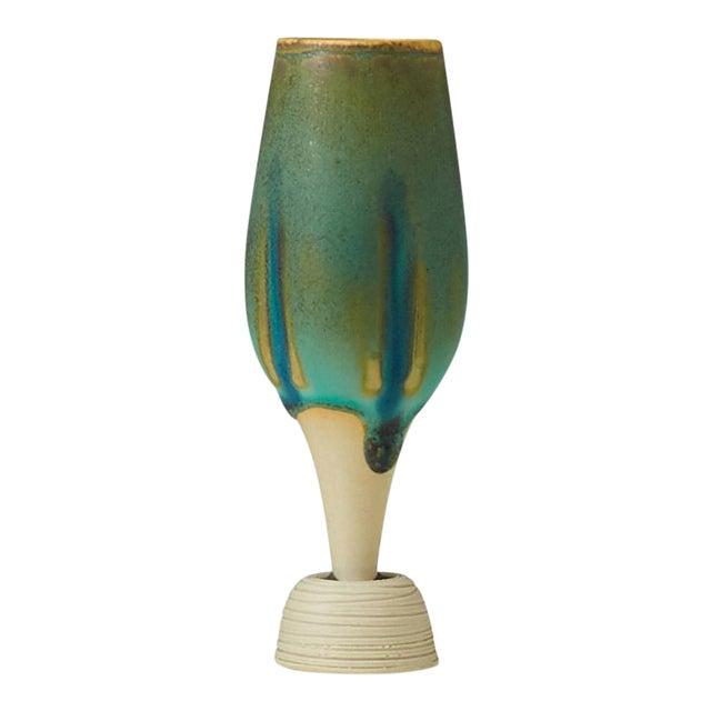 Wilhelm Kage Mini-Spirea vase For Sale