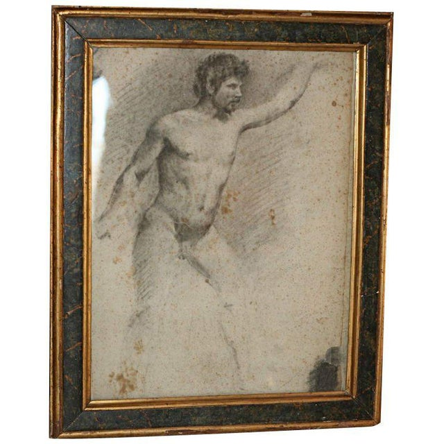 Italian Academy Drawing For Sale In Los Angeles - Image 6 of 6