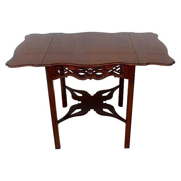 Baker Flip-Top Table For Sale