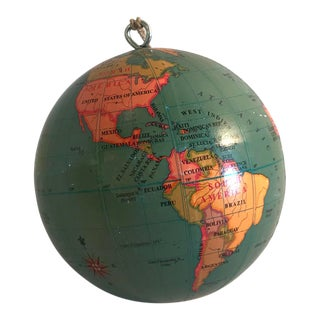 20th Century Traditional Globe Ornament For Sale